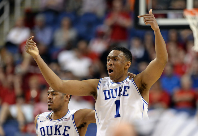 Jabari Parker will look to carry Duke to a Final Four. (USATSI)