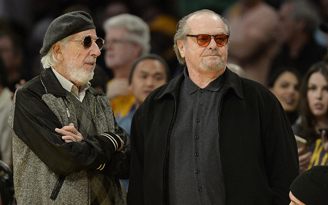 52c2c26c64751 Jack Nicholson has just about had it with the Lakers - CBSSports.com