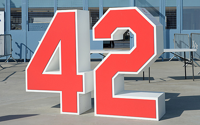 Celebrate good ol' number 42 on this Jackie Robinson Day.