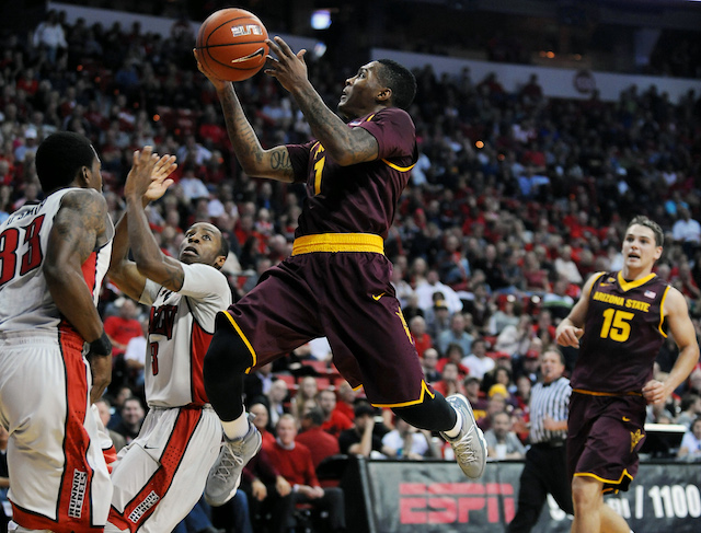 Jahii Carson was unguardable for Arizona State, scoring 40 points and dishing seven assists. (USATSI)