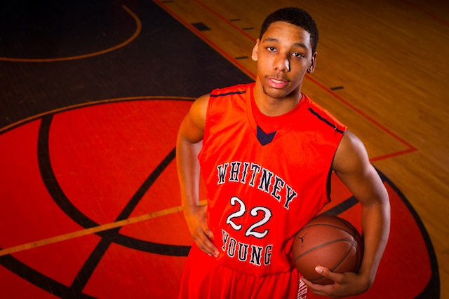 No. 1 overall prospect Jahlil Okafor leads a loaded group heading to Duke this weekend. (USATSI)
