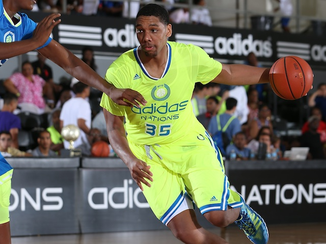 Jahlil Okafor, the No. 1 player in 2014, is one of four players announcing on Friday. (Adidas)