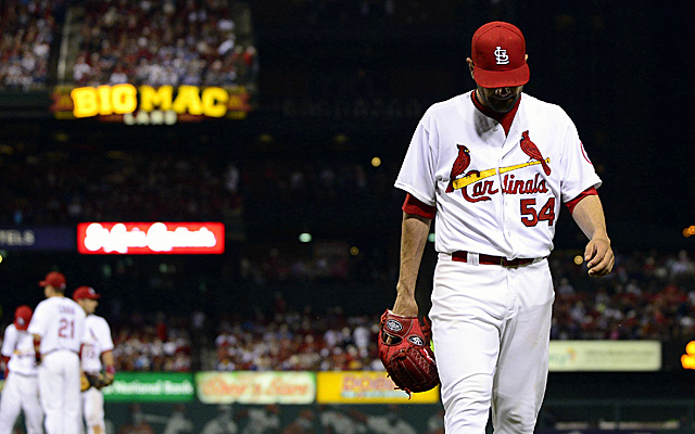 Jaime Garcia's long road back just got a little longer.