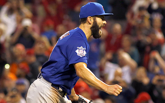 Jake Arrieta is good. Some people think this means he's cheating.