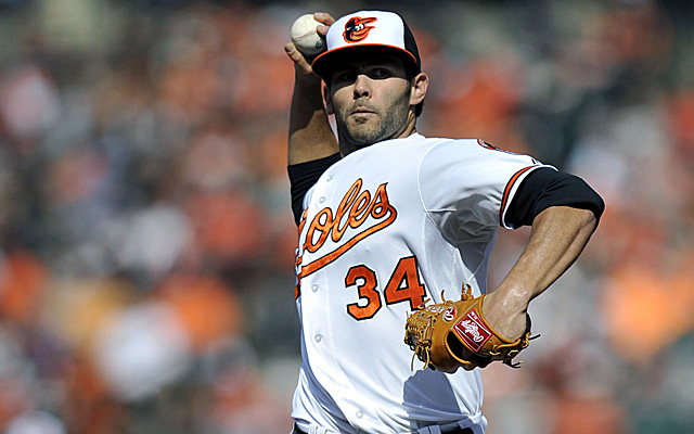 After a stint in Triple-A, Jake Arrieta is back with the O's.