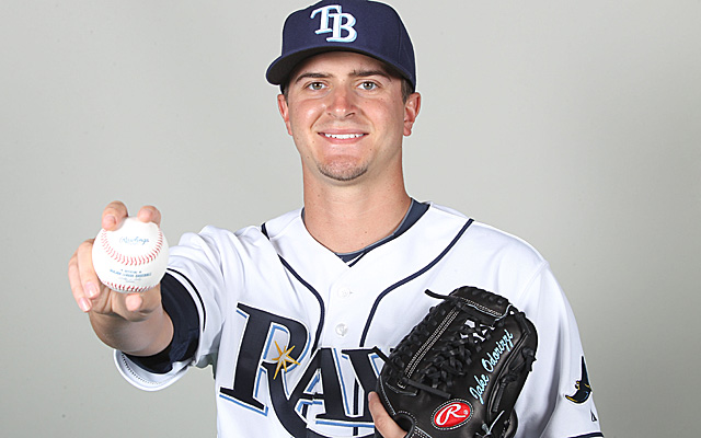 Jake Odorizzi will make his Rays debut Monday.