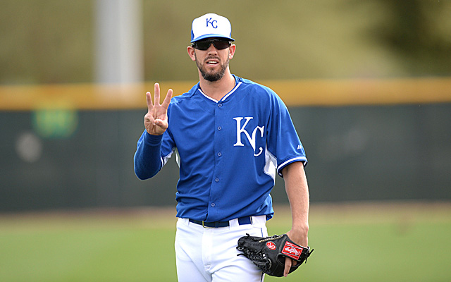 James Shields is eligible to hit free agency after the 2014 season.