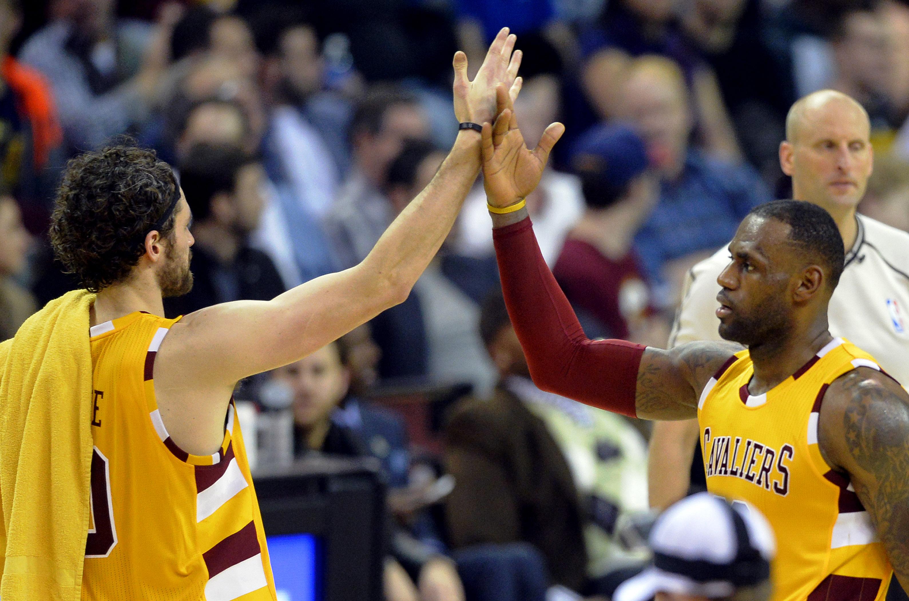 The Cavaliers seem back on track. (USATSI)