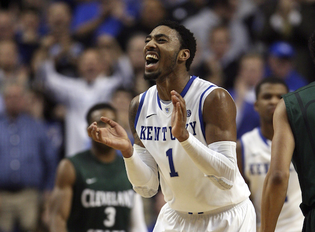 James Young's smooth stroke from the perimeter provides Kentucky with an added dimension. (USATSI)