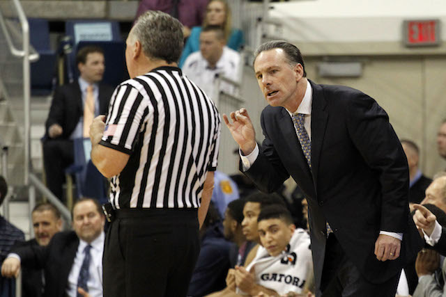 Jamie Dixon and Pittsburgh will likely be sweating on Selection Sunday. (USATSI)