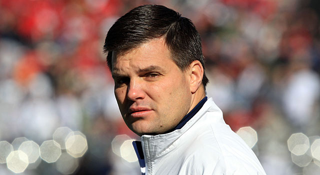 Jay Paterno recently gave an interview at his home to discuss his dad's legacy. (USATSI)