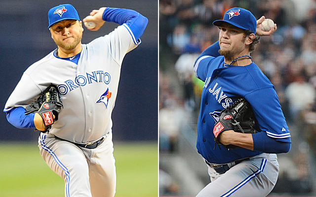 Mark Buehrle and Josh Johnson are red hot right now for the Jays.