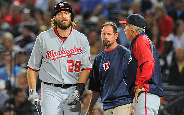 Jayson Werth is headed for the DL with a lingering hamstring injury.