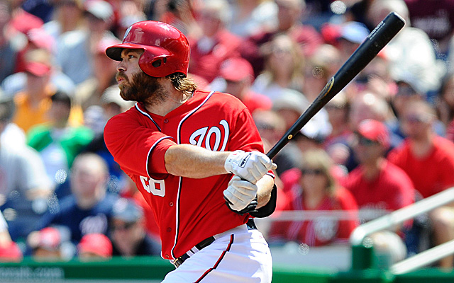 The excellently bearded Jayson Werth will soon be on a rehab stint.