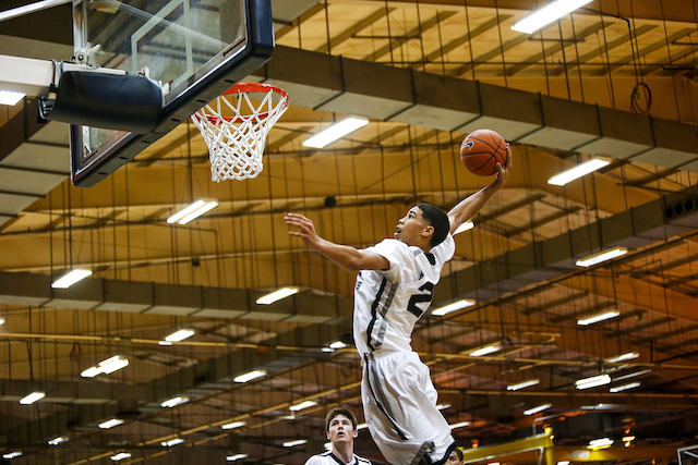 Jayson Tatum might be the best NBA prospect at the guard position in high school basketball. (Nike EYB/Jon Lopez)