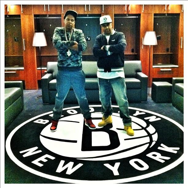 new concept 66458 8b8ec Nets selling Jay-Z 'Carter' jersey as Barclays mega-premier ...