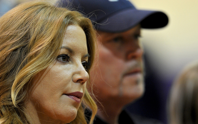 Jeanie Buss took the decision not to hire Phil Jackson hard. (USATSI)