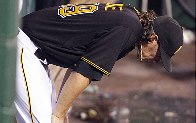 Jeff Locke is badly struggling of late.