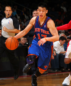 Jeremy Lin is making his former GMs look bad. (Getty Images)