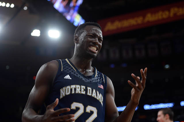 Jerian Grant was leading Notre Dame in scoring and assists through 12 games. (USATSI)