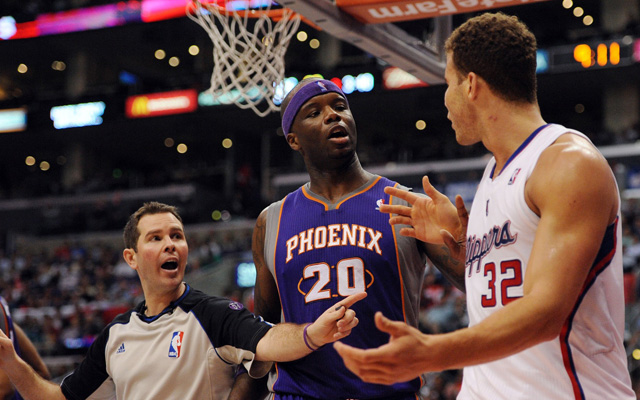 Jermaine O'Neal and Blake Griffin are not friends. (USATSI)