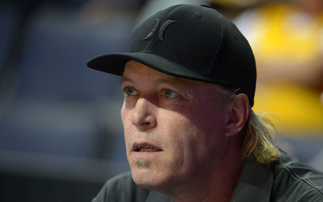 Jim Buss says he'll step down if he can't make the Lakers contenders again. (USATSI)