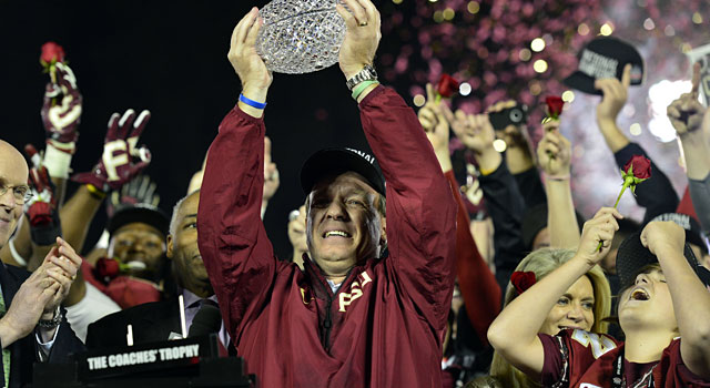 Florida State is the odds-on favorite to win the College Football Playoff next season. (USATSI)
