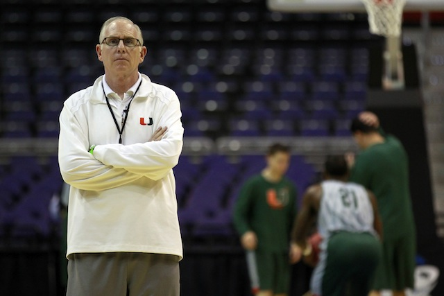 Jim Larranaga has picked up arguably the best transfer class in the country this offseason. (USATSI)
