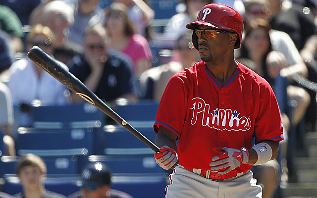 It doesn't sound like Jimmy Rollins has impressed his manager much in camp so far.