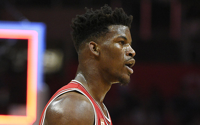 Jimmy Butler will reportedly return to the Bulls' lineup Saturday. (USATSI)