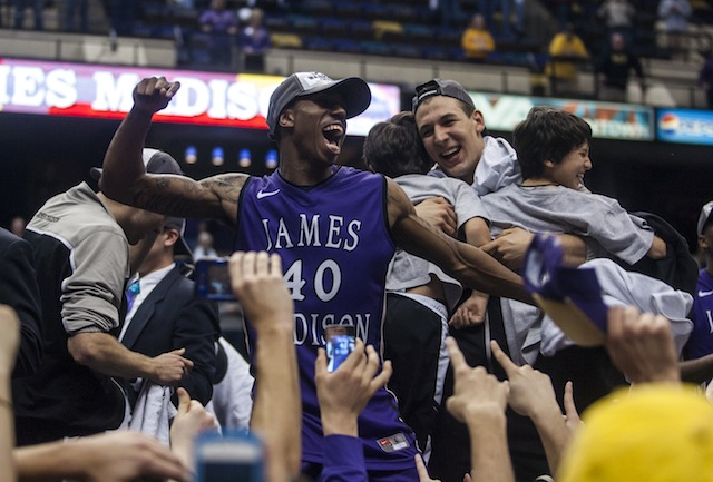 After going 19 seasons without an NCAA tournament appearance, James Madison is dancing. (USATSI)