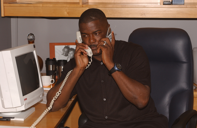 Joe Dumars may not be taking calls in Detroit much longer.   (USATSI)