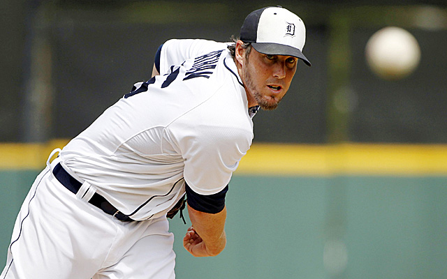 How many saves will Joe Nathan close down this season for the Tigers?