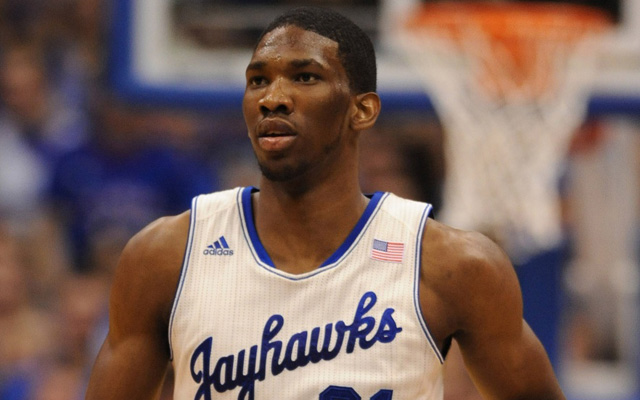 Joel Embiid may not depart for the draft this year. (USATSI)
