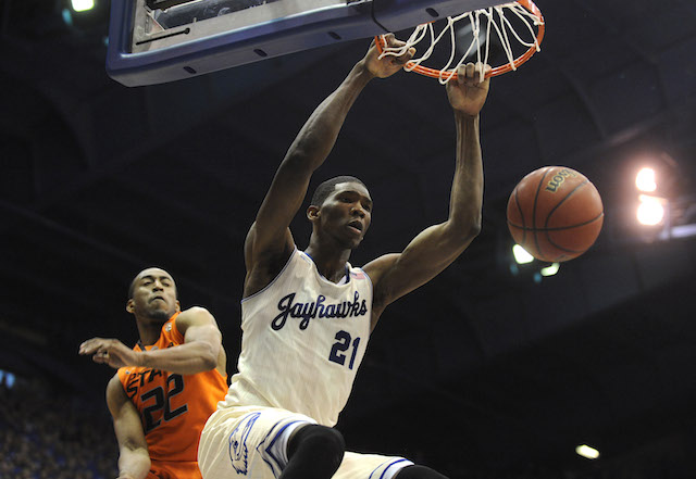 Joel Embiid has cemented himself into the discussion for the No. 1 pick in June's NBA draft. (USATSI)