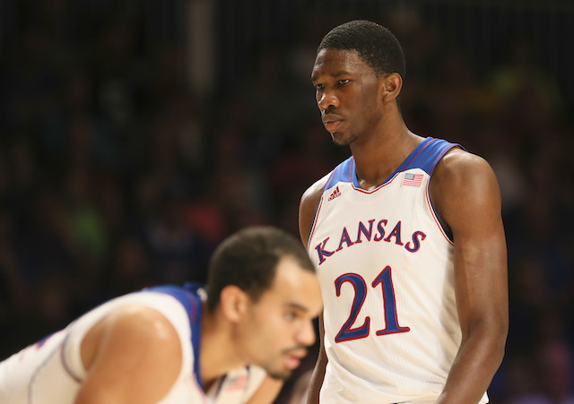 Joel Embiid needs to stay out of foul trouble against Florida's deep and versatile frontcourt. (USATSI)