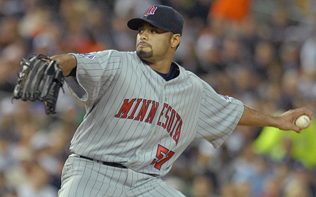 Remember Johan Santana in a Twins uniform? We may be seeing that again.