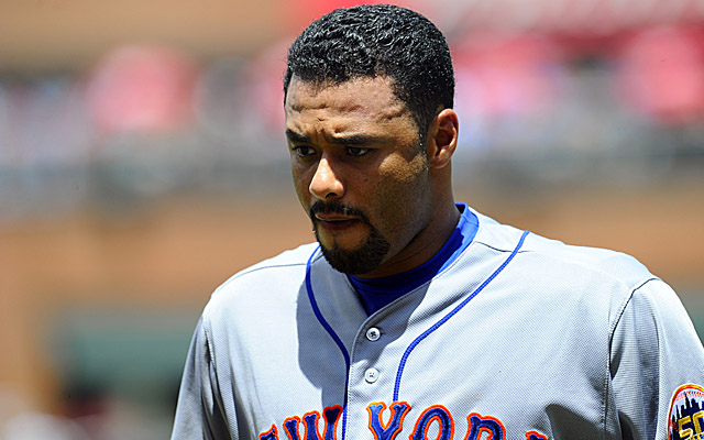 Johan Santana is slowly working his way back.