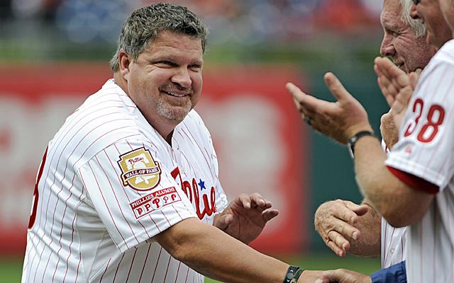 John Kruk was reportedly taken from Dodger Stadium on a stretcher.