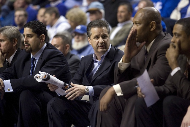 Most coaches think John Calipari has the talent on his roster to make a deep run in the NCAA tournament. (USATSI)
