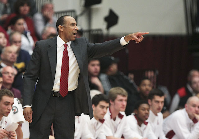 Johnny Dawkins and Stanford picked up a possible signature win against UConn on Wednesday. (USATSI)