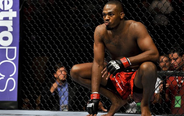 Jon Jones is going for his sixth-consecutive title defense.