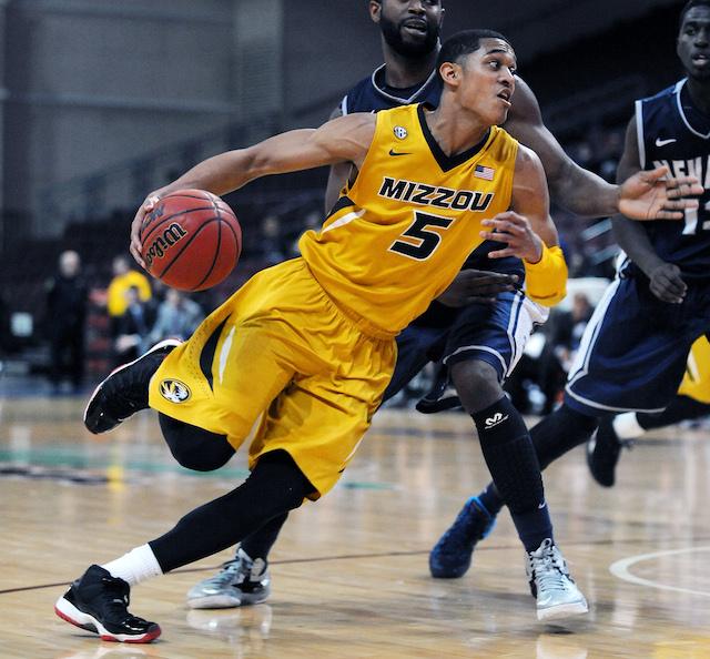 After transferring from Tulsa, Jordan Clarkson has been a big-time scorer for Missouri. (USATSI)