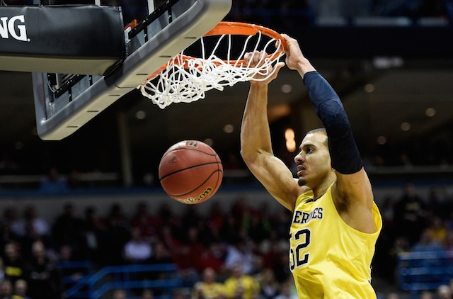 Jordan Morgan has posted a double-double in each of his two tournament games. (USATSI)