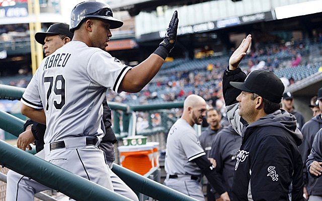 Jose Abreu has given lots of reasons for White Sox manager Robin Ventura to be pleased.