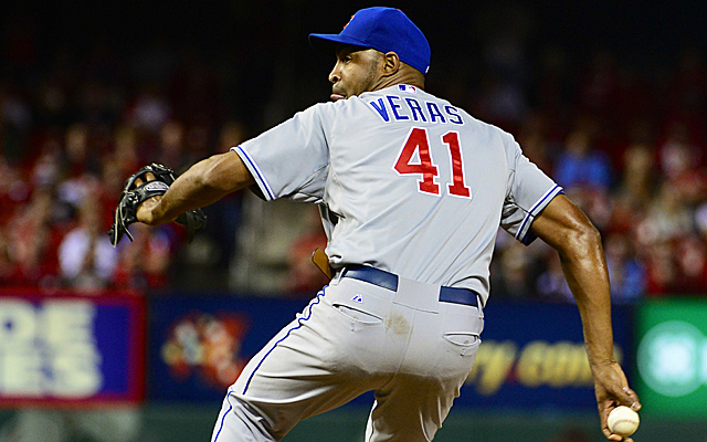 Jose Veras won't remain as the Cubs primary closer.