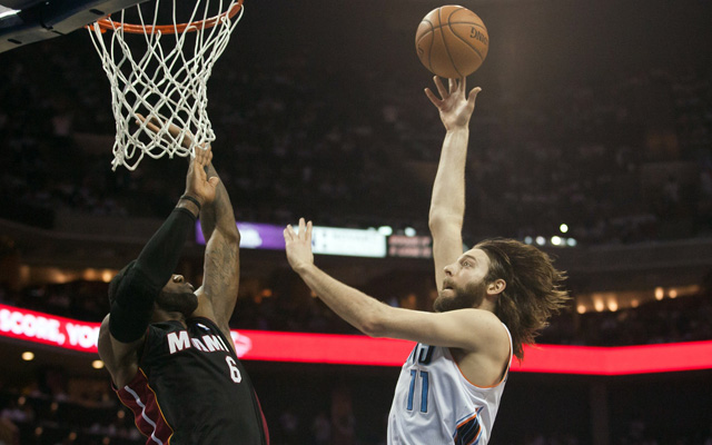 Josh McRoberts has reportedly opted out for next season.  (USATSI)