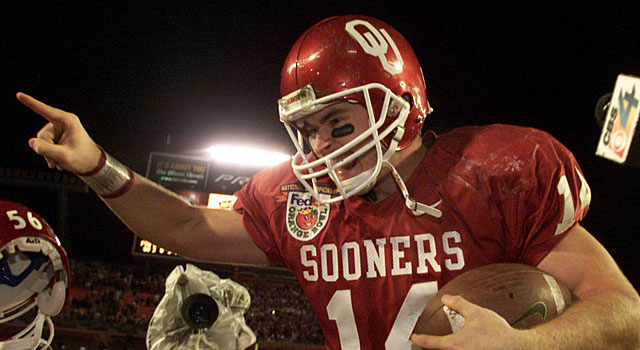 Josh Heupel and Oklahoma claim the national title. (Getty)