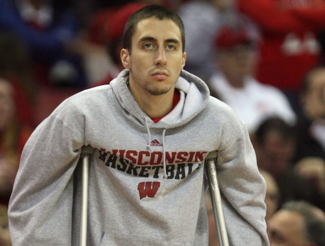 Josh Gasser missed all of last season after suffering a left knee injury in late October. (USATSI)