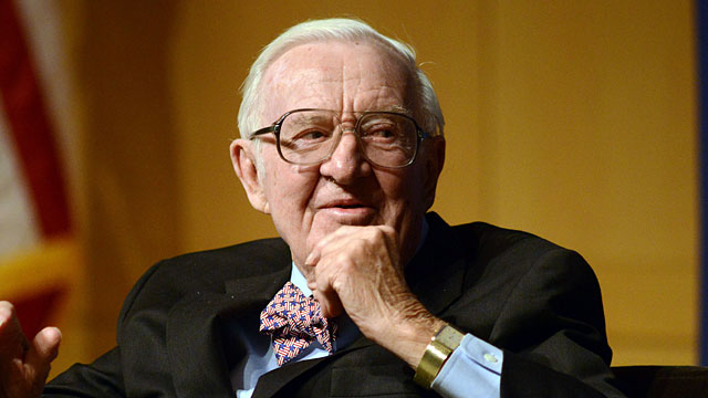 John Paul Stevens and the Supreme Court handed down a 7-2 decision against the NCAA. (Getty)
